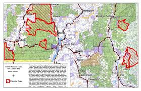 Wsu Map Mushroomers U0027 Appeal Prompts Colville Forest To Rescind Some Fire