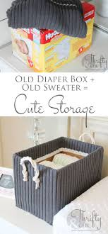 25 unique cardboard box storage ideas on diy storage