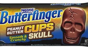 butterfinger peanut butter cup skulls how the halloween game