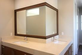 diy bathroom mirror frame 78 enchanting ideas with how to frame a