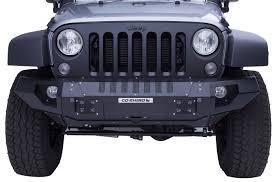 jeep rhino 2007 2017 jeep wrangler go rhino brj40 front bumper go rhino