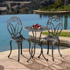 nassau sand bistro set by christopher knight home free shipping