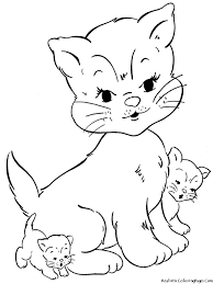 printable coloring pages of cats contegri com