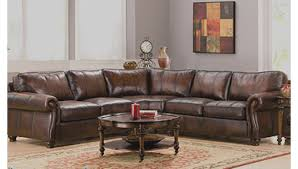 sofa 2 pc sectional sofa glamorous garrison 2 pc leather