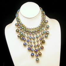 crystal necklace ebay images My classic jewelry shop ebay stores jpg