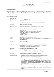 Sample Resume Title by Management Information Systems Resume Free Resume Example And