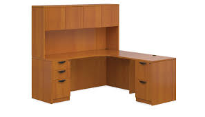 L Shaped Computer Desk With Hutch Affordable Office Furniture - Affordable office furniture