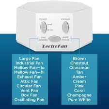 white noise fan sound lectrofan high fidelity white noise machine with 20 unique fan black