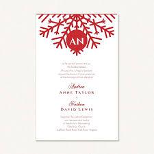 snowflake wedding invitations snowflake wedding invitations with monogram snowflake