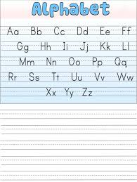 blank kindergarten writing paper english alphabet worksheet for kindergarten activity shelter english alphabet worksheet for kindergarten that you can print for free available in various template to print including tracing letters