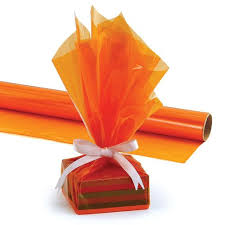 cello wrap cello wrap roll orange hyg71504