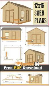 shed floor plans free 12x16 shed plans gable design pdf download pdf free and