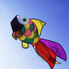 Backyard Kids Toys by Nylon Rainbow Fish Windsock Festival Outdoor Garden Backyard