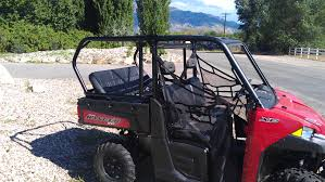 polaris ranger xp 900 rear cage and seat combo 2014 u2013 sandworks