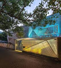 sanjay puri architects have designed auriga a restaurant and