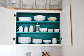 what of paint to use inside kitchen cabinets nesting colored kitchen cabinets a beautiful mess