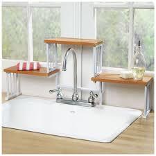 Kitchen Sink Shelves - fabulous kitchen over sink shelf walmart picture inspirations