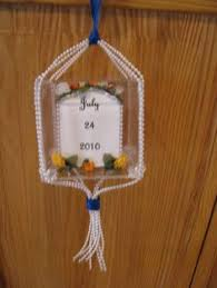 ornament for 1st year of marriage i to make my
