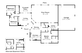 mansion floor plans with pool and plan wda craftsman corner lot