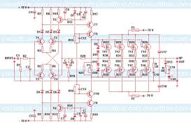 audio amplifer circuit 230w with mosfet irfp2409240 wiring