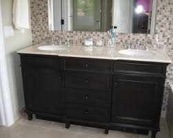 bathroom tile sink backsplash black backsplash glass wall tiles