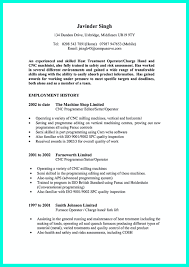 Resume Sample Transferable Skills by Cnc Machinist Resume Samples Free Resume Example And Writing