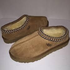 ugg tasman slippers on sale ugg ugg tasman chestnut womens slippers shoes 12 from