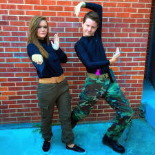 cheap couples costumes diy nostalgic costumes for couples popsugar smart living