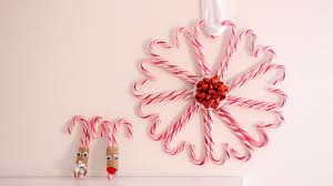diy candy cane christmas decorations youtube