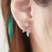 ear cuffs moon pierced earcuff clip on earrings ear cuffs for