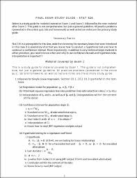 are study guides stat study guide final exam study guide u2013 stat 326 below is a