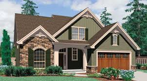 classy ideas cottage house plans with garage 12 small single story