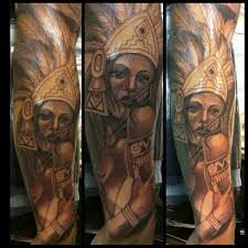 aztec princess tattoo designs pictures to pin on pinterest