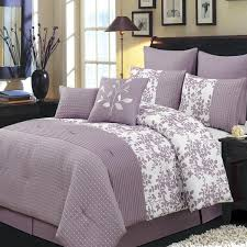 Plum Bed Set Modern Floral Plum Comforter Bedding Set Luxury Linens 4 Less