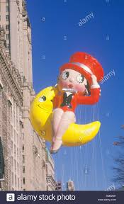 betty boop balloon in macy s thanksgiving day parade new york city
