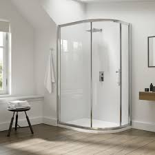 Infold Shower Door by Dilusso Deight Infold Shower Door Inswing Design 700 1000mm