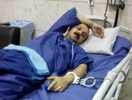 handcuffed to bed update shahabi released to civilian hospital industriall
