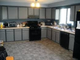 Modern Kitchen Color Ideas Gray Paint With Oak Cabinet U2013 Sequimsewingcenter Com