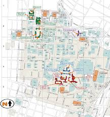 Texas Map Austin by Residence Hall And Dining Map Division Of Housing And Food