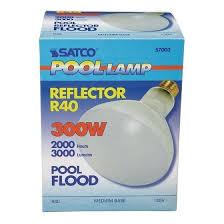 300 watt pool light bulb satco pool l incandescent light bulb 300 watts 2485 lumens