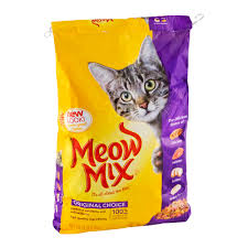 meow mix tender centers tuna u0026 whitefish flavors dry cat food 3