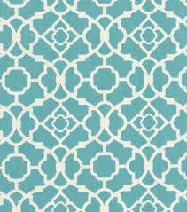 home decor print fabric waverly lovely lattice aqua joann