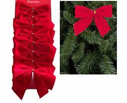 velvet bows 15pcs lot christmas decor velvet bows christmas tree