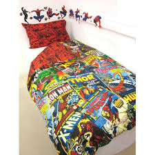 Marvel Double Duvet Cover Official Marvel Comics Merchandise Free Uk Delivery Ebay