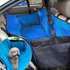 split rear seat cover for dogs black regular fitted rear seat