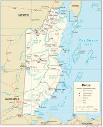 Chico State Map by Belize U2014 Central Intelligence Agency
