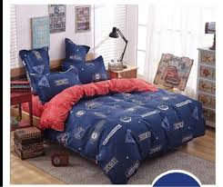 Blue Bed Set Online Get Cheap Navy Blue Comforter Sets Aliexpress Com