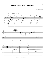 thanksgiving theme sheet for piano and more