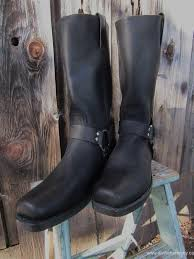 womens boots size 12 narrow womens boots frye harness boots black vintage recycled