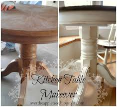 How To Refinish A Table Sand And Sisal by Best 25 Paint Kitchen Tables Ideas On Pinterest Paint A Kitchen